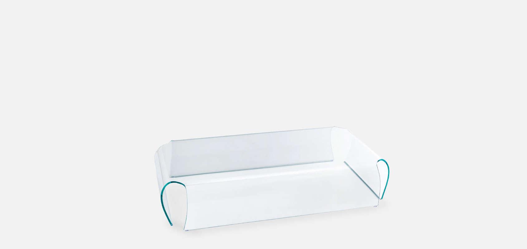 Bent Glass Coffee Table By Naoto Fukasawa For Glas Italia ...