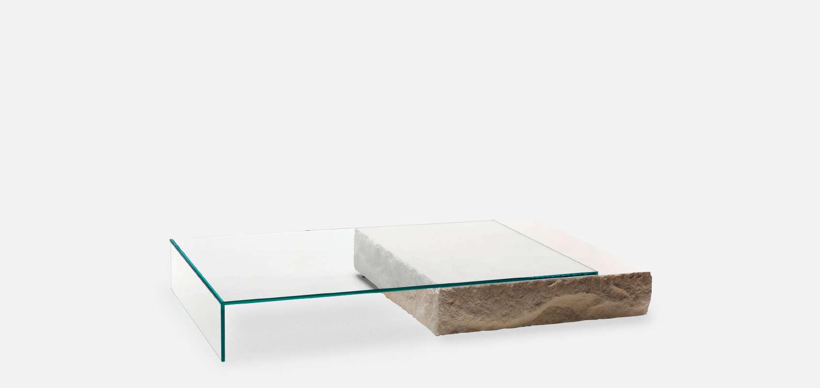 Terraliquida coffee table by claudio silvestrin for glas for Mobilia italia