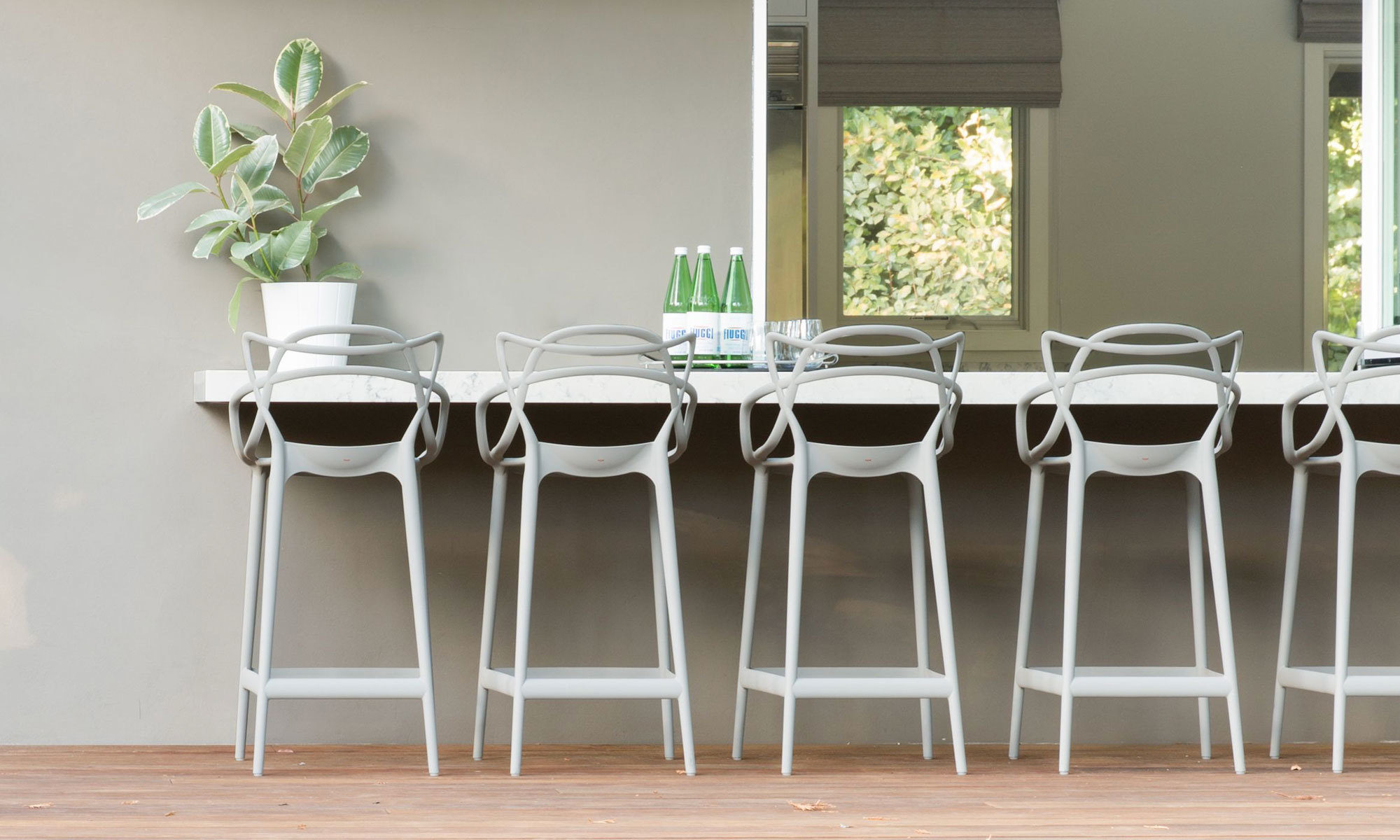 Masters Counter Stool By Philippe Starck For Kartell