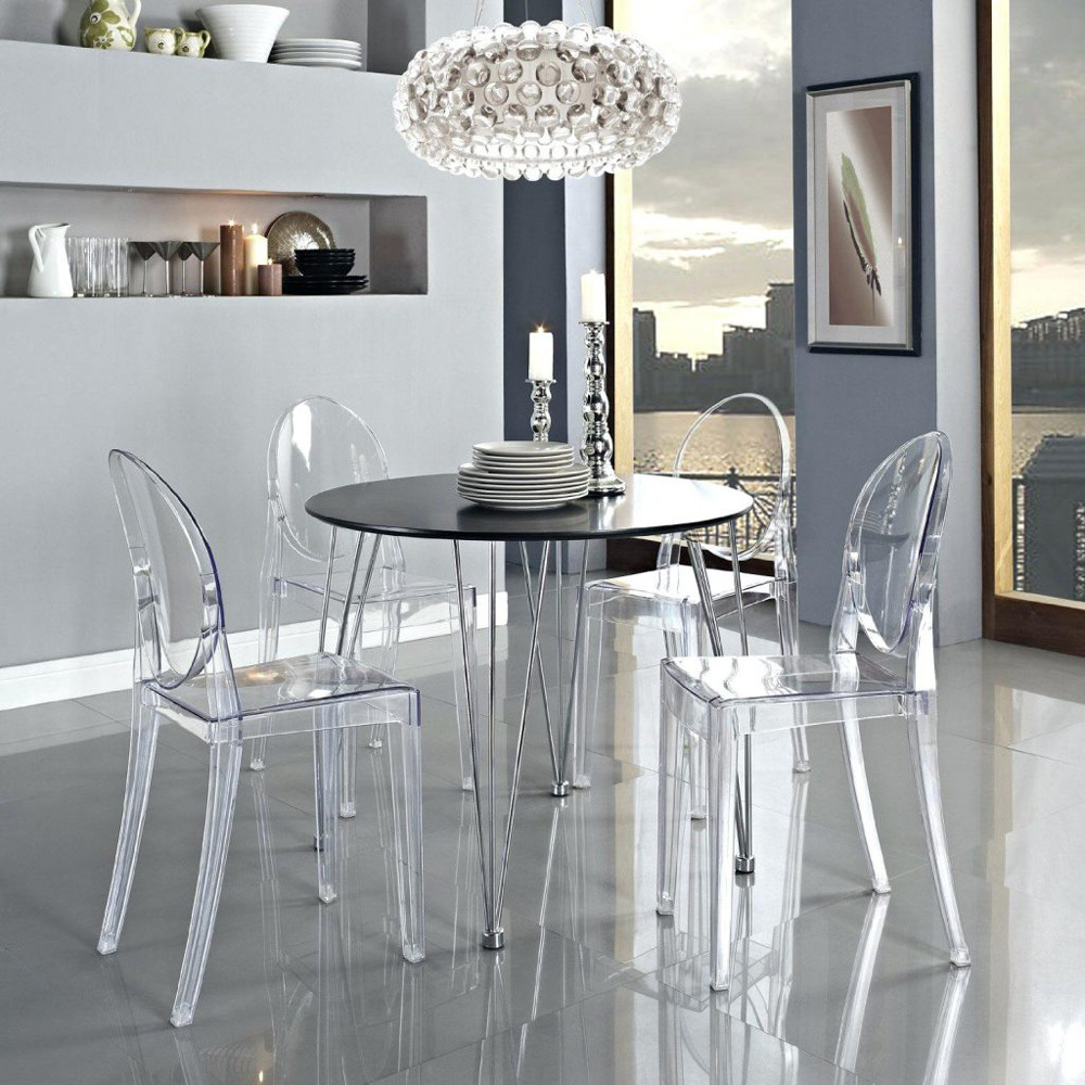 Victoria Ghost Chair by Philippe Starck for Kartell ...
