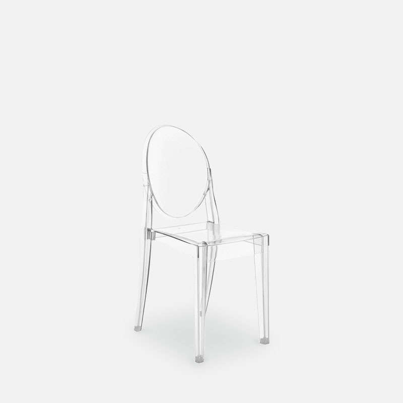 Victoria Ghost Chair by Philippe Starck for Kartell - Residential ...