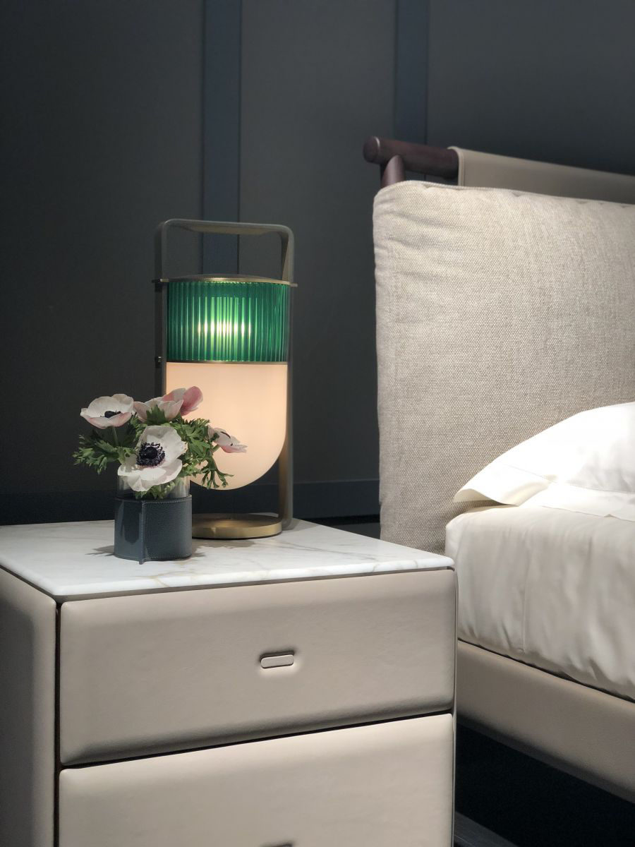 Moondance Bedside Table By Roberto Lazzeroni For Poltrona