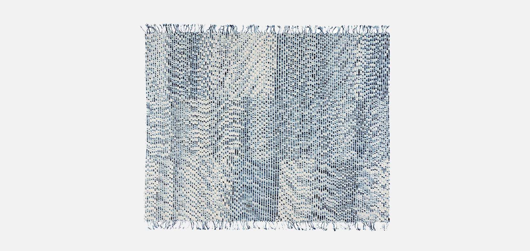 Lines Blue Rug By Philippe Malouin For Cc Tapis Residential Mobilia